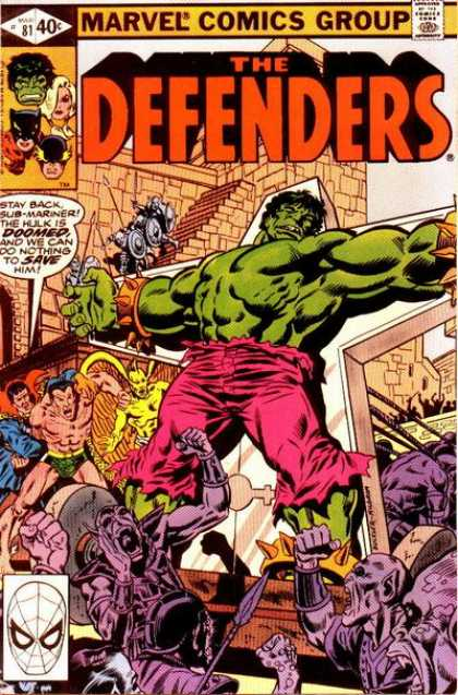 Defenders 81 - Richard Buckler