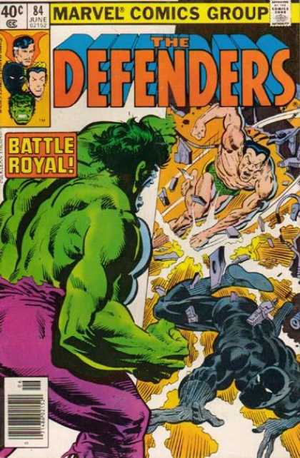 Defenders 84 - Richard Buckler