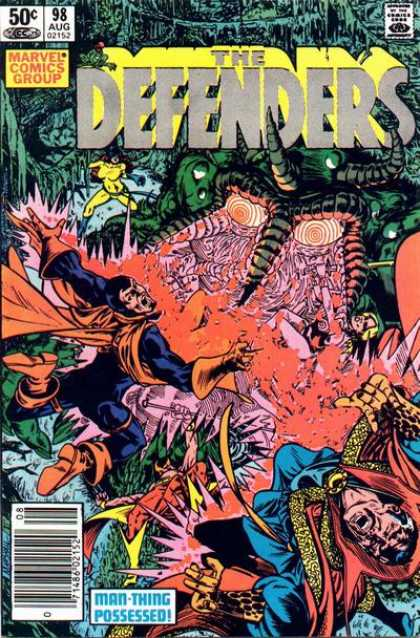 Defenders 98 - Issue 98 - Dr Strange - Hellcat - Valkyrie - Man-thing