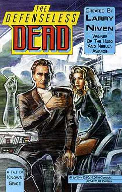 Defenseless Dead 1 - A Tale Of Known Space - Created By Larry Niven - Winner Of The Hugo And Nebula Awards - One Sexy Girl - One Young Man