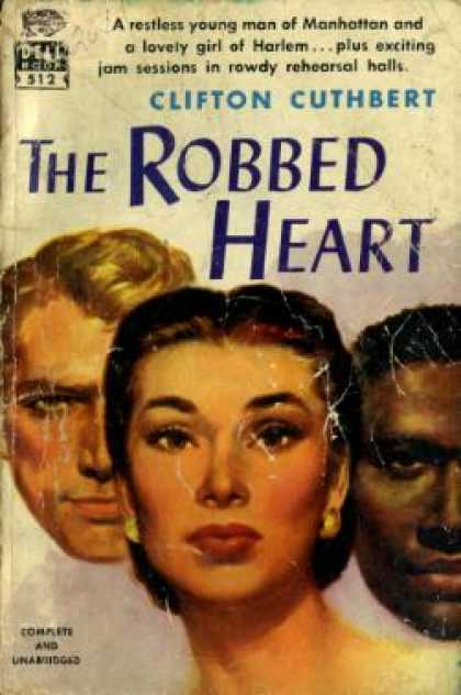 Dell Books - The Robbed Heart - Clifton Cuthbert