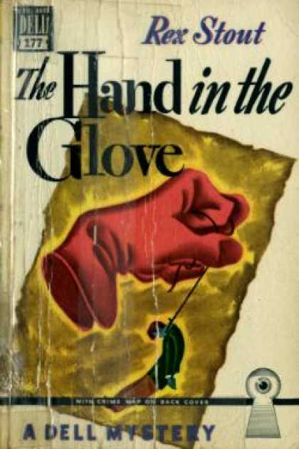 Dell Books - The hand in the glove - Rex Stout