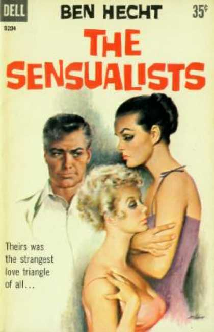 Dell Books - The Sensualists - Ben Hecht