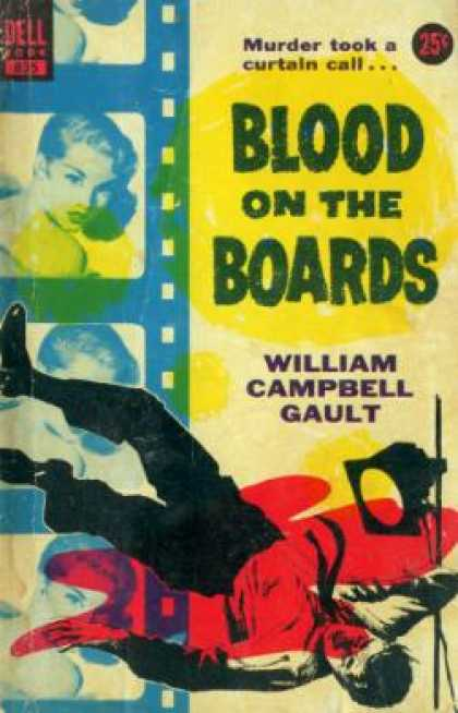 Dell Books - Blood On the Boards - William Campbell Gault