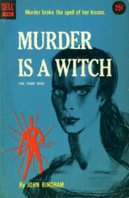 Dell Books - Murder Is a Witch
