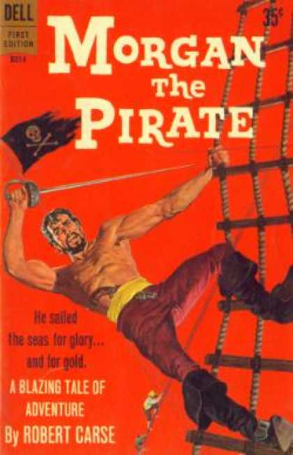 Dell Books - Morgan the Pirate - Robert Carse