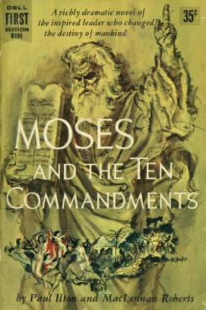 Dell Books - Moses and the Ten Commandments