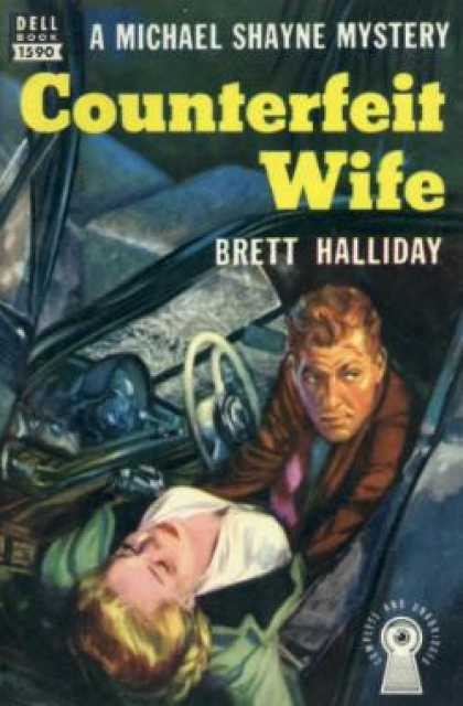 Dell Books - Counterfeit Wife - Brett Halliday