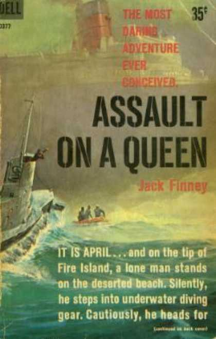 Dell Books - Assault On a Queen - Jack Finney