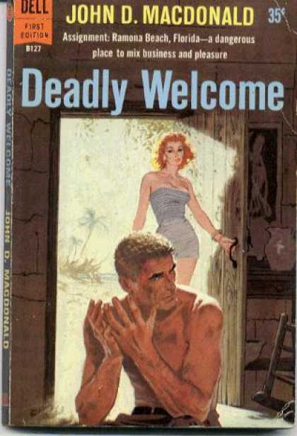 Dell Books - Deadly Welcome