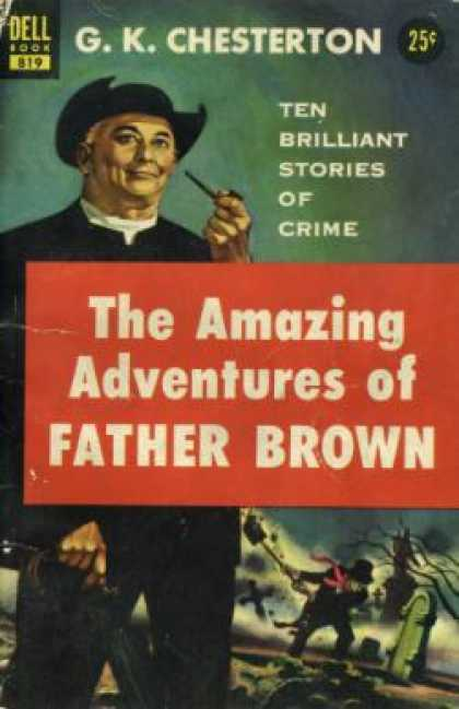 Dell Books - Amazing Adventures of Father Brown, the - G.k. Chesterton