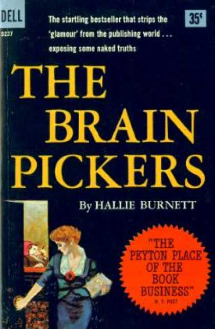 Dell Books - The Brain Pickers - Hallie Burnett