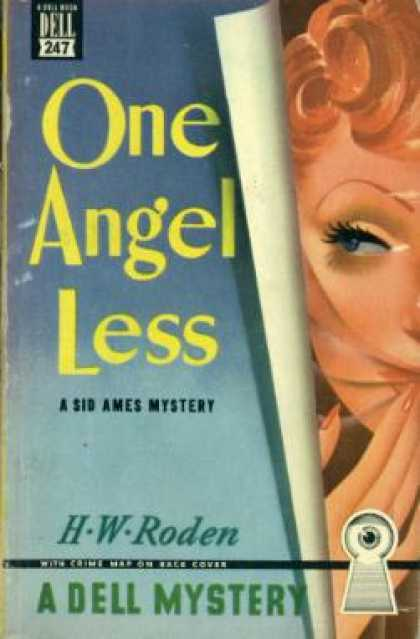 Dell Books - One Angel Less - H. W. Roden