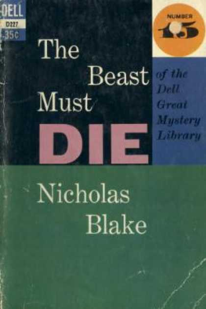 Dell Books - The Beast Must Die - Nicholas Blake