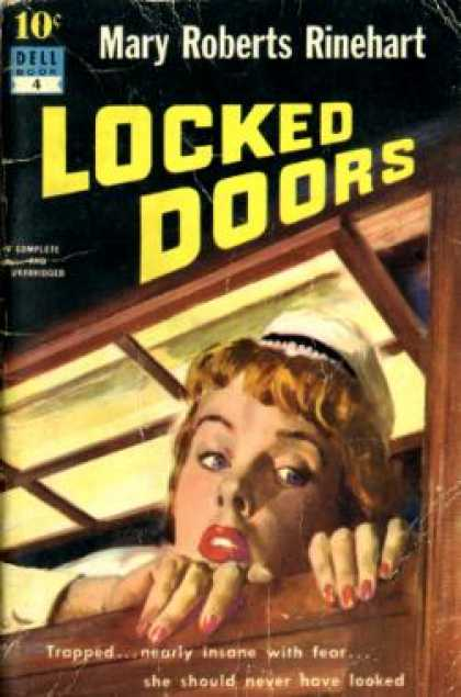 Dell Books - Locked Doors: Dell # 4 - Mary Roberts Rhinehart