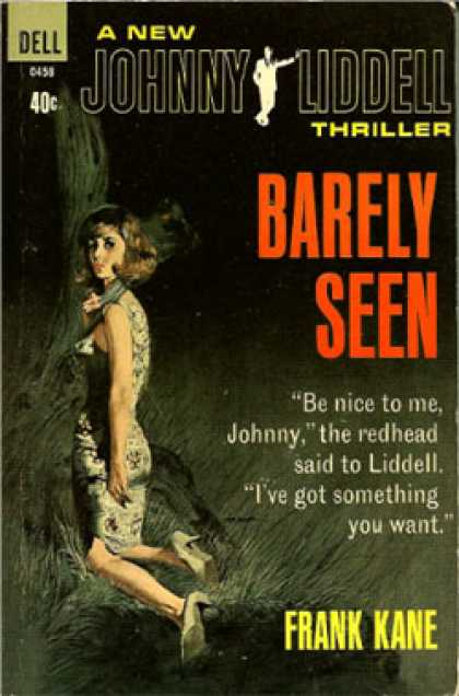 Dell Books - Barely Seen - Frank Kane