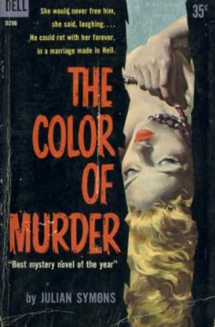 Dell Books - Color of Murder