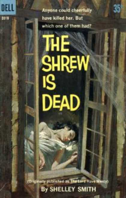 Dell Books - The Shrew Is Dead ([dell Books 35 Cent Series) - Shelley Smith