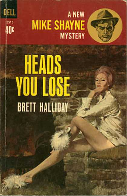 Dell Books - Heads You Lose - Brett Halliday