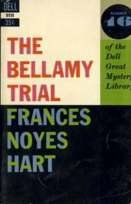 Dell Books - The Bellamy Trial - Frances Noyes Hart