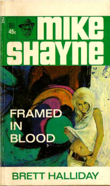 Dell Books - (Mike Shayne) Framed in blood - Brett Halliday