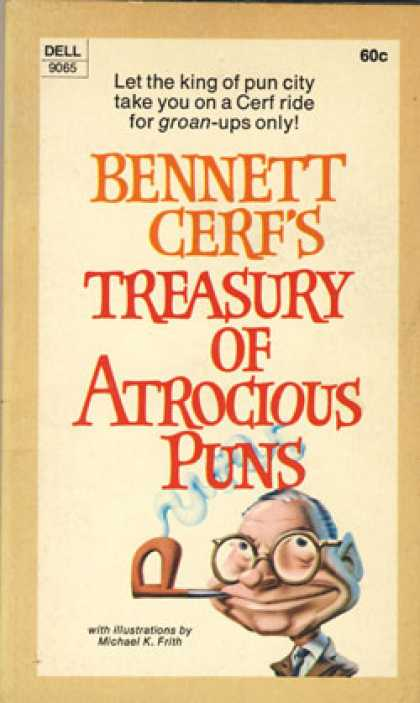 Dell Books - Bennet Cerf's Treasury of Atrocious Puns