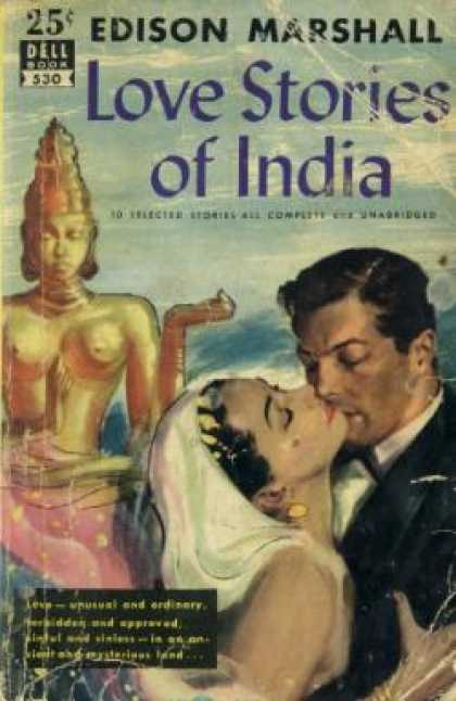 Dell Books - Love Stories of India: 10 Selected Stories - Edison Marshall