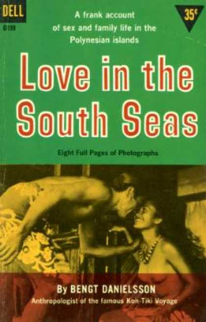 Dell Books - Love In the South Seas - Bengt Danielsson