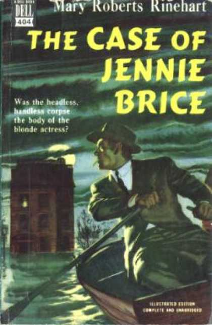 Dell Books - The Case of Jennie Brice - Mary Roberts Rinehart