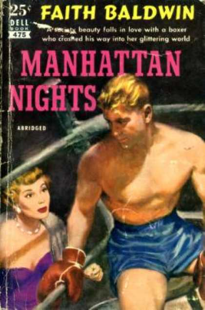 Dell Books - Manhattan Nights - Faith Baldwin