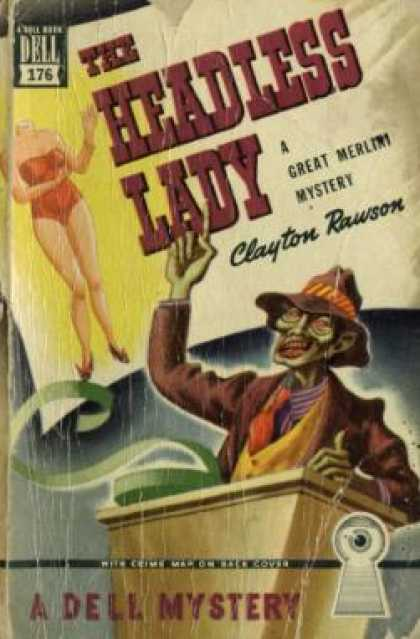 Dell Books - The Headless Lady - Clayton Rawson