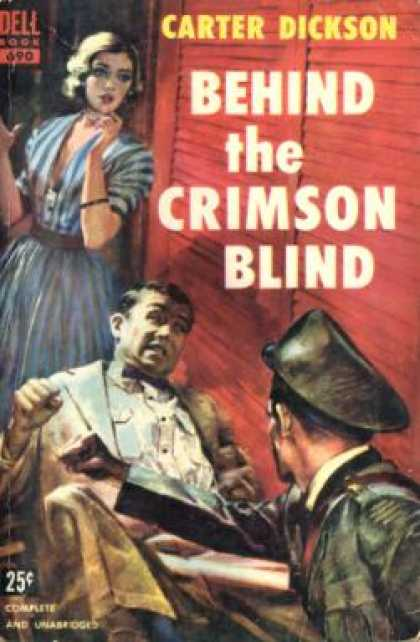 Dell Books - Behind the Crimson Blind - Carter Dickson