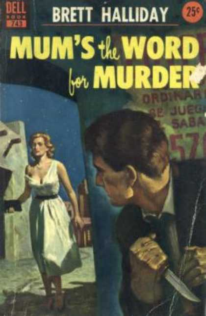 Dell Books - Mum's the Word for Murder - Asa Baker
