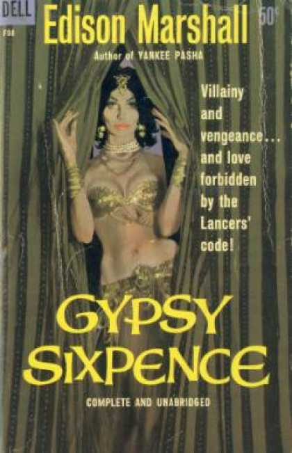 Dell Books - Gypsy Sixpence - Edison Marshall