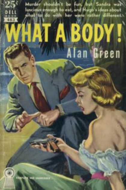 Dell Books - What a Body! - Alan Green