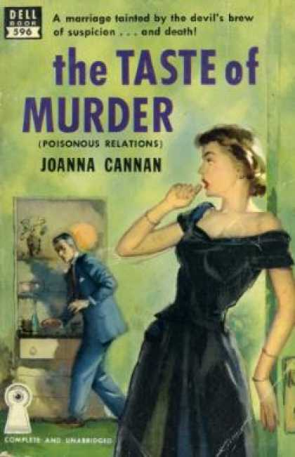 Dell Books - The Taste of Murder - Joanna Cannan