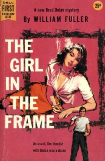 Dell Books - The Girl In the Frame - William Fuller