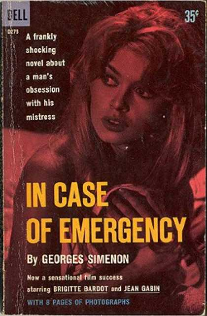 Dell Books - In Case of Emergency - Georges Simenon