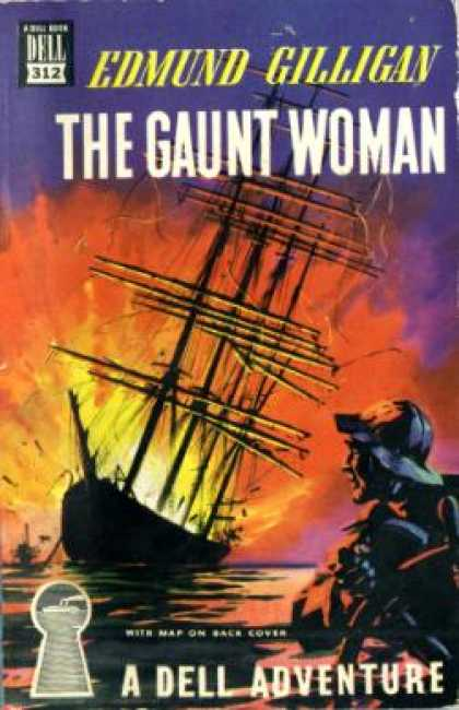Dell Books - The Gaunt Woman - Edmund Gilligan