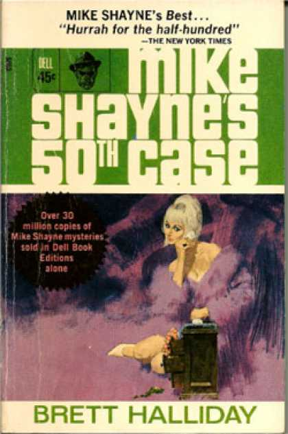 Dell Books - Mike Shayne's 50th Case - Brett Halliday