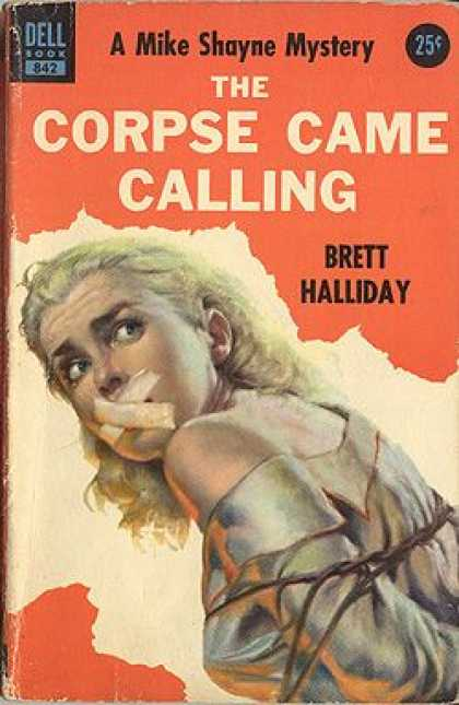 Dell Books - The Corpse Game Calling - Brett Halliday