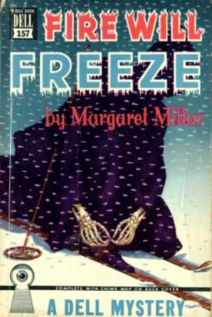 Dell Books - Fire Will Freeze - Margaret Millar