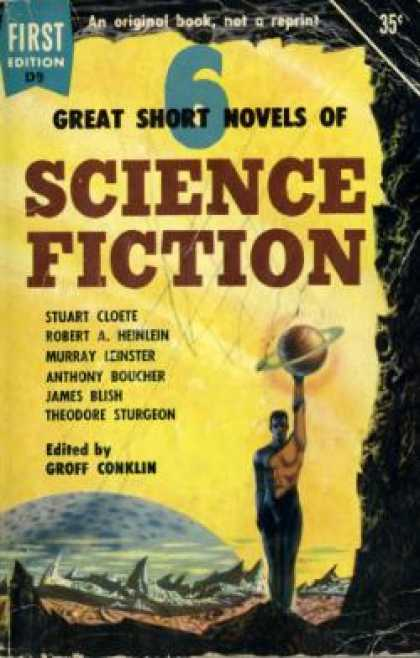 Dell Books - 6 Great Short Novels of Science Fiction - Stuart Cloete
