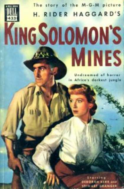 Dell Books - H. Rider Haggard's King Solomon's Mines: The Story of the M-g-m Motion Picture -