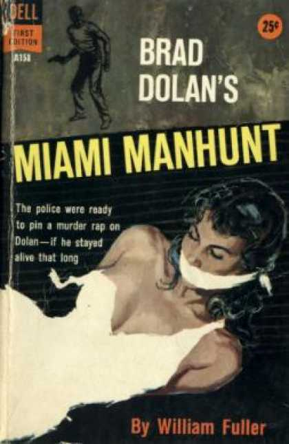 Dell Books - Brad Dolan's Miami Manhunt