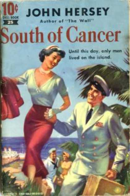 Dell Books - South of Cancer - John Hersey