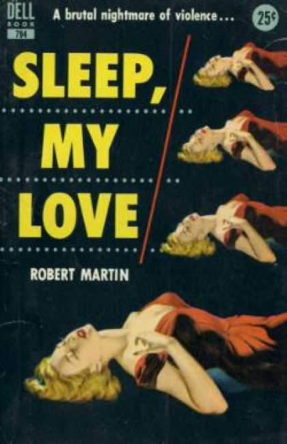 Dell Books - Sleep, My Love - Robert Martin