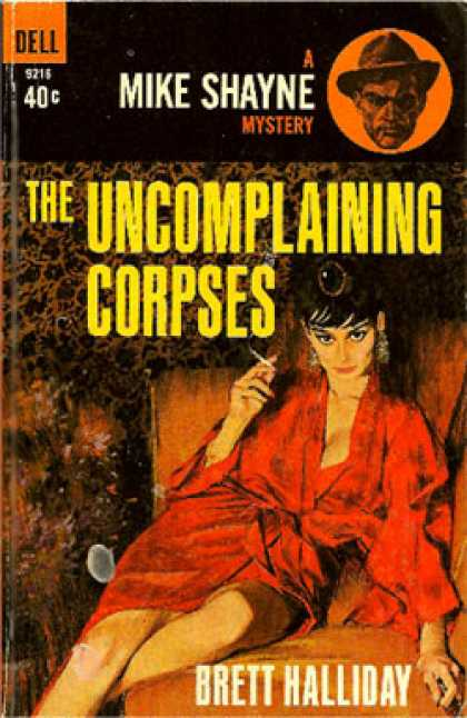 Dell Books - The Uncomplaining Corpses - Brett Halliday