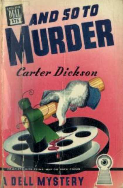 Dell Books - And So To Murder - Carter Dickson