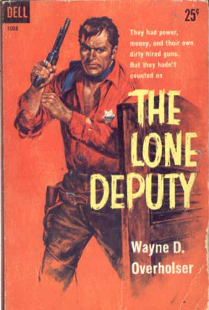 Dell Books - The Lone Deputy - Wayne D. Overholser